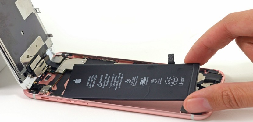 cambio de bateria del movil