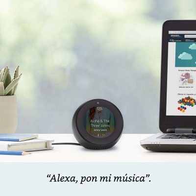 ALEXA ECHO SPOT MUSICA