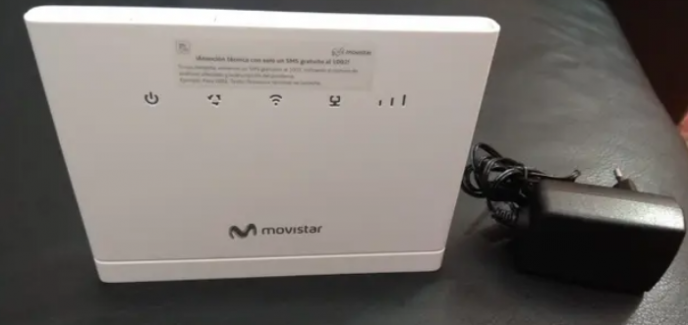 ROUTER 4G MOVISTAR VIA RADIO